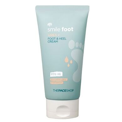 THE FACE SHOP - Крем для ног с мочевиной Smile Foot Urea Plus Foot & Heel Cream