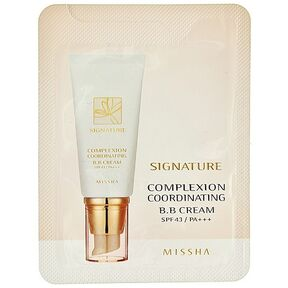 Пробник - Тональный крем MISSHA M Signature Complexion Coordinating BB Cream 1