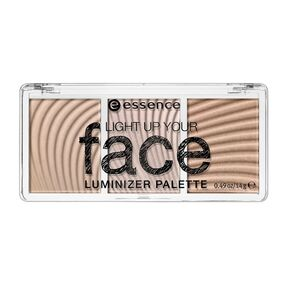 ESSENCE - Палетка люминайзеров light up your fase luminizer palette