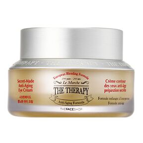 THE FACE SHOP - Крем вокруг глаз The Therapy Secret Made Anti-Aging Eye Cream