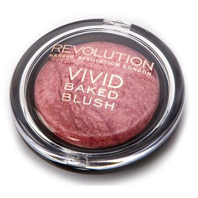 MAKEUP REVOLUTION - Румяна Baked Blushers - Loved me the Best
