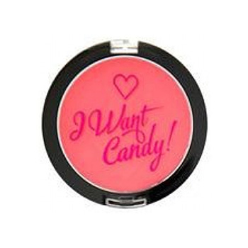MAKEUP REVOLUTION - Румяна I Want Candy - Pink!
